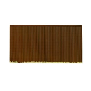 GardenPath Dark Brown PVC Garden Fence