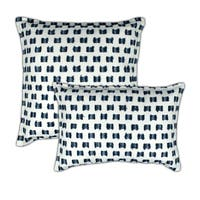 Sherry Kline O'Fifi Indigo Combo Decorative Pillow