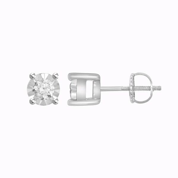14mm Half Ball Moon Stud Earrings 925 Sterling Silver Choose Color