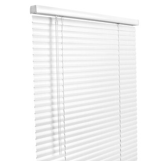 Lotus & Windoware 30x64 White Aluminum Blind
