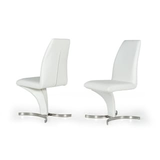 Nix White Dining Chair (Set of 2)