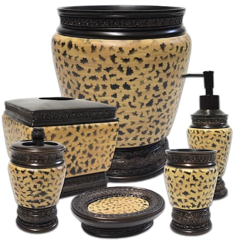 Wild Life 6 Piece Bath Accessory Set