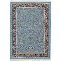 eCarpetGallery Persian Collection Nain Blue/Brown Area Rug - 6' x 9'