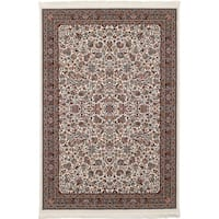 eCarpetGallery Persian Collection Kashan Ivory Rug - 6' x 9'