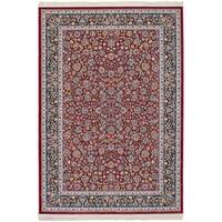 eCarpetGallery Persian Collection Nain Red Power-loomed Rug - 6' x 9'