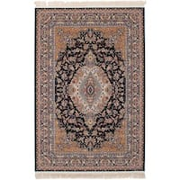 eCarpetGallery Persian Collection Tabriz Blue Rug