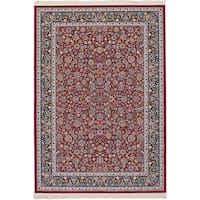 eCarpetGallery Persian Collection Nain Red Power-loomed Area rug (4'11 x 7'5)