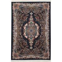 eCarpetGallery Persian Collection Tabriz Blue Rug