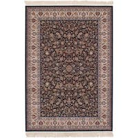 eCarpetGallery Persian Collection Mashad Blue Rug - 4'11 x 7'5