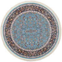 eCarpetGallery Persian Collection Nain Blue Rug - 6' x 6'