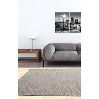 Ecarpetgallery Portico Beige Grey Animal Print Rug - 4' x 6'