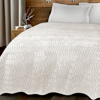 Adrien Lewis - Hibernate Alto Embossed Plush Blanket (More options available)