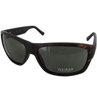 Guess Men GUP1009 Polarized Sunglasses, Tortoise/Black
