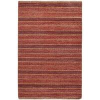 ecarpetgallery Hand-knotted Finest Ziegler Chobi Red Wool Rug (4'1 x 6'4)