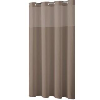 Hookless® Shower Curtain Plain Weave Desert taupe