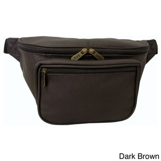 Amerileather Jumbo-size Leather Waist Pack