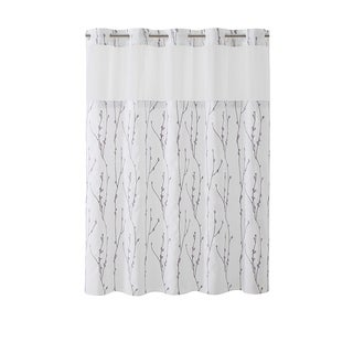 Hookless® Shower Curtain Cherry Bloom White lilac