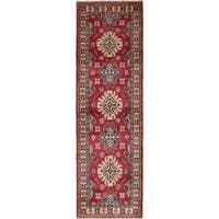 eCarpetGallery Hand-knotted Finest Gazni Red Wool Rug (2'9 x 9'1)