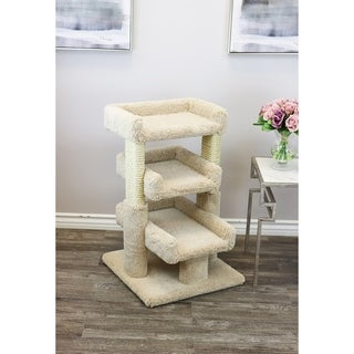 Prestige Cat Trees Solid Wood Large Triple Cat Perch (3 options available)