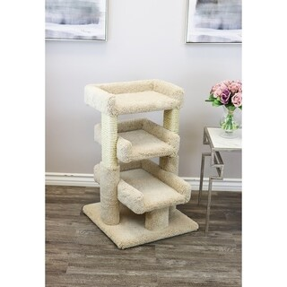 Prestige Cat Trees Solid Wood Large Triple Cat Perch