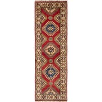 eCarpetGallery Hand-knotted Finest Gazni Red Wool Rug (2'8 x 8'3)