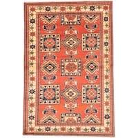 Ecarpetgallery Hand-knotted Finest Kargahi Brown Wool Rug (6'7 x 9'11)