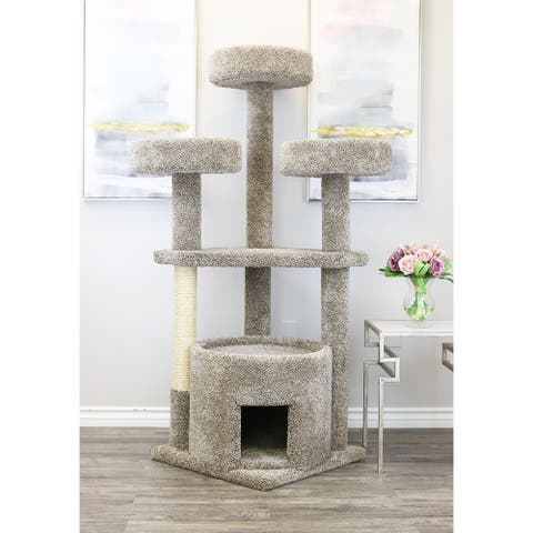 Prestige Cat Trees Cat House for Large Cats
