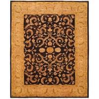 eCarpetGallery Hand-knotted Chobi Beige Wool Rug (12'9 x 15'9)
