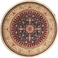 eCarpetGallery Sino Persian 180L Multi-color Wool/Cotton Hand-knotted Rug (8' x 8')