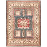 Ecarpetgallery Finest Gazni Blue Wool Area Rug