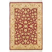 eCarpetGallery Multicolored Wool/Cotton Hand-knotted Pako Persian Rug (4'2 x 6'1)