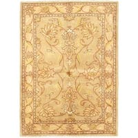 eCarpetGallery Chobi Finest Beige Hand-knotted Wool Rug (4'10 x 6'9)