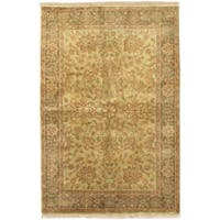 Ecarpetgallery Hand-knotted Sultanabad Beige Wool Rug (6'3 x 9'1)