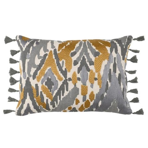 Kosas Home Tiburon 100% Linen 14 x 20 Throw Pillow