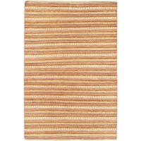 eCarpetGallery Finest Ziegler Chobi Brown/Yellow Cotton and Wool Hand-knotted Rug (4' x 6')