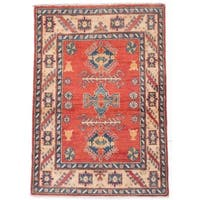 ecarpetgallery Finest Gazni Red Wool Rug