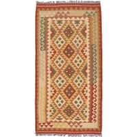 eCarpetGallery Hand-woven Anatolian Kilim Wool Rug (3'3 x 6'7)