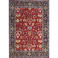 Ecarpetgallery Hand-knotted Serapi Heritage Red Wool Rug (8'10 x 12'9)