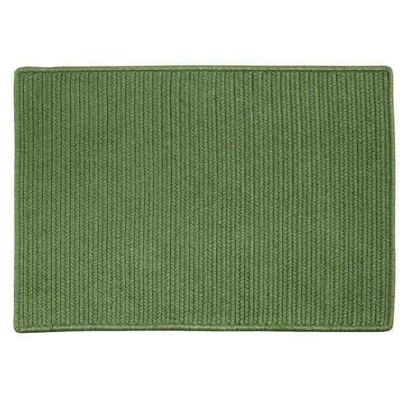 Shop Low-Profile Doormat Moss Green - 2\'6\