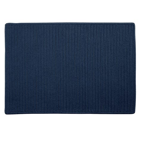Low-profile Doormat Blue