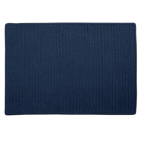 Low-profile Solid Color Doormat
