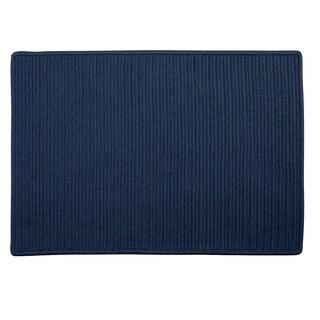 """Low-Profile Doormat Blue - 1'8"""" x 2'6"""""""