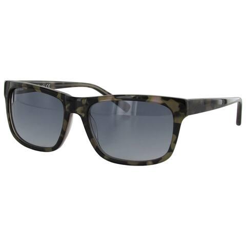Kenneth Cole New York Mens KC7021 20B Plastic Frame Sunglasses, Grey