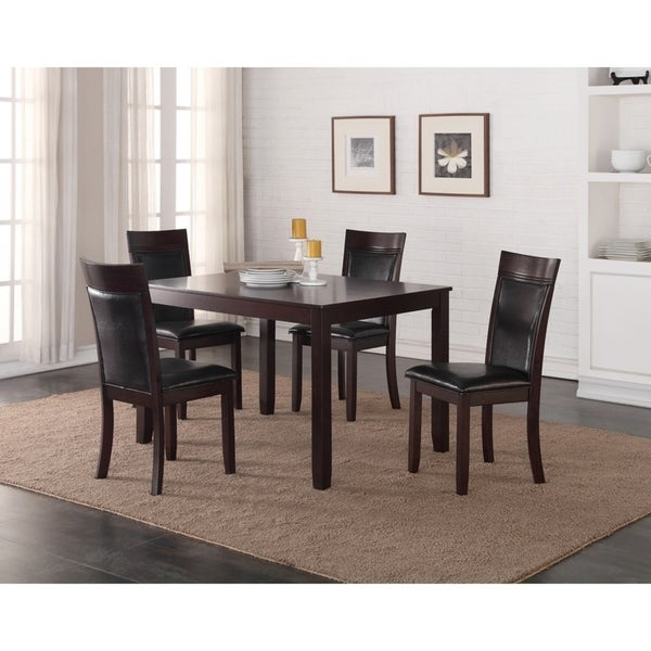 Cormier Five Piece Dining Set Free Shipping Today Overstock