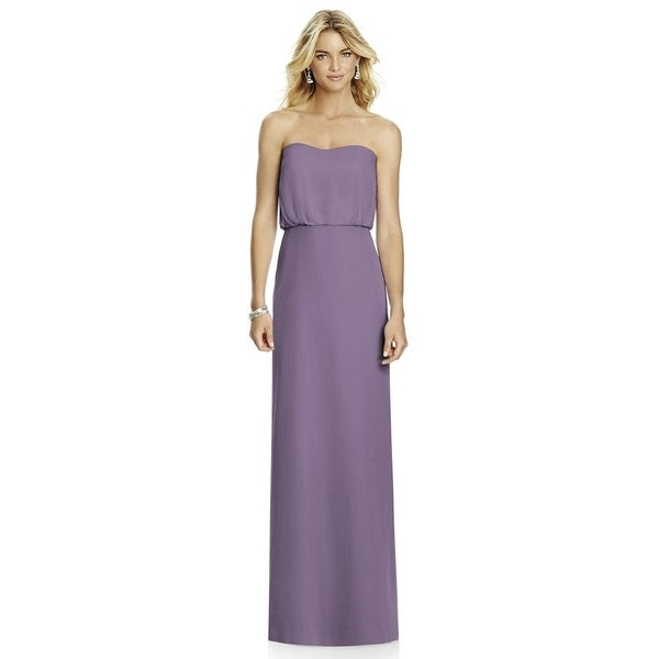 838deb7d5ff Shop After Six Lavender Lux Chiffon Full Length Dress - Free Shipping Today  - Overstock - 21782087