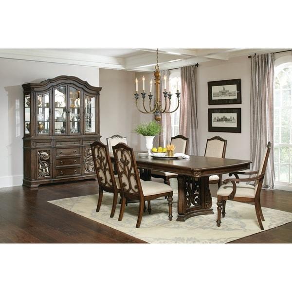 Traditional Dining Room Set: Shop Ilana Traditional Antique Java 5-piece Rectangular