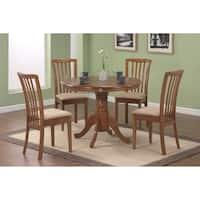 Brannan Casual Oak 5-piece Dining Set
