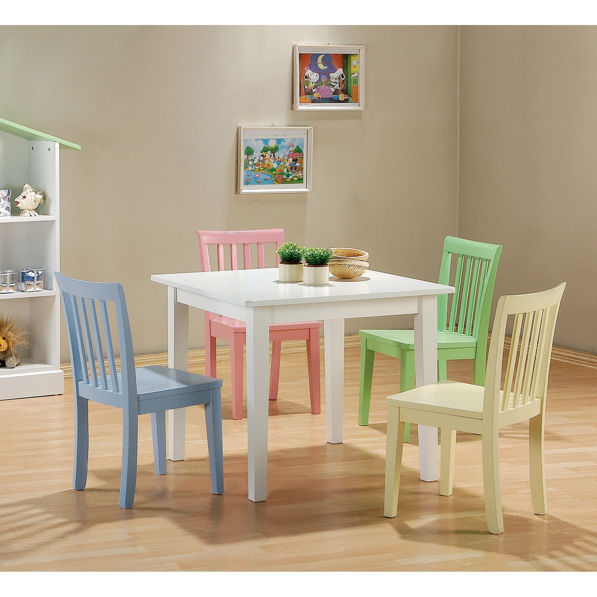Rory 10-piece Youth Table and Chairs Dining Set