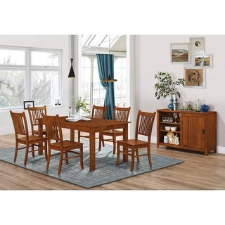 Marbrisa Mission Oak 5-piece Dining Set