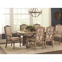 Ilana Traditional 7-piece Rectangular Formal Dining Set